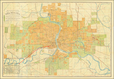 Iowa Map By Melchior Huebinger