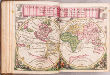 Atlases Map By Guillaume Sanson / Francois Halma