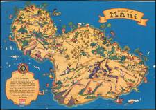Hawaii and Hawaii Map By Ruth Taylor White