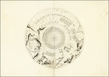 Polar Maps, Russia, Scandinavia and Canada Map By Vincenzo Maria Coronelli