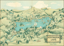 California Map By Lowell E. Jones