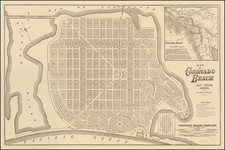 California and San Diego Map By Rand McNally & Company