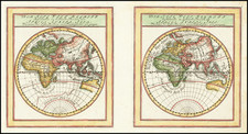 World and Eastern Hemisphere Map By Gabriel Bodenehr