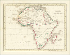 Africa Map By Thomas Gamaliel Bradford