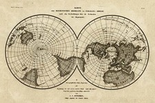World, World and Polar Maps Map By Joseph Meyer