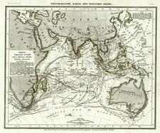 Asia, Asia, India, Southeast Asia, Australia & Oceania and Australia Map By Joseph Meyer