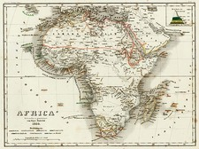 Africa and Africa Map By Joseph Meyer