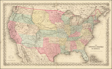 The United States of America  [1st edition] By Joseph Hutchins Colton