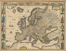 Europ, and the cheife Cities contained therein, described with the habits of most Kingdoms now in use . . . 1626 By John Speed