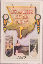 Los Angeles and Rare Books Map By Harry Ellington Brook
