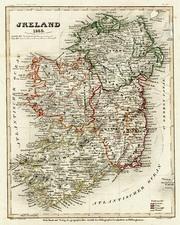 Europe and British Isles Map By Joseph Meyer