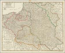 Poland Map By Johann Walch