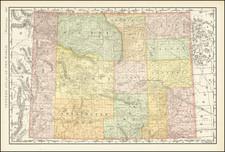 Wyoming Map By Rand McNally & Company