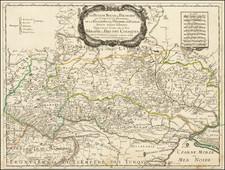 Poland and Ukraine Map By Nicolas Sanson