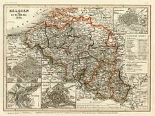Europe Map By Joseph Meyer