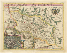 Poland Map By Pieter van den Keere