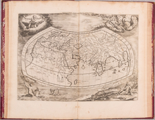 Atlases Map By  Gerard Mercator / Claudius Ptolemy