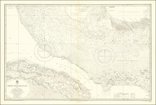Cuba and Bahamas Map By British Admiralty
