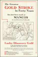 Colorado and Colorado Map By Lucky Discovery Gold