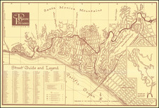 Los Angeles Map By Franz L. Wambaugh
