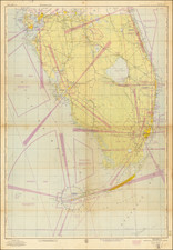 Florida and World War II Map By U.S. Coast & Geodetic Survey