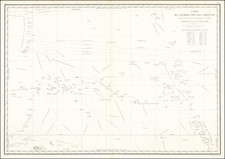 Oceania Map By L.I. Duperrey