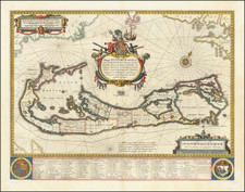 Bermuda Map By Willem Janszoon Blaeu
