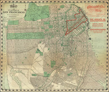 San Francisco & Bay Area Map By H.A. Candrian