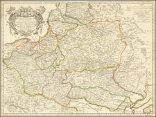 Poland and Baltic Countries Map By Nicolas Sanson