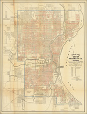 Wisconsin Map By Wilmanns Bros Litho.
