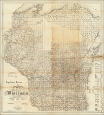 Wisconsin Map By Silas Chapman