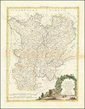 France Map By Antonio Zatta
