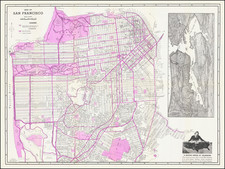 Pictorial Maps and San Francisco & Bay Area Map By Pioneer Reproduction Company