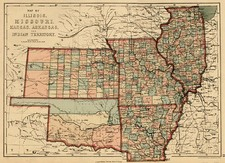Midwest, Plains and Southwest Map By J. David Williams