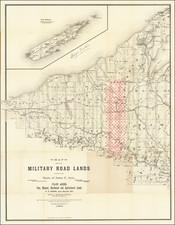 Michigan Map By George Tackabury