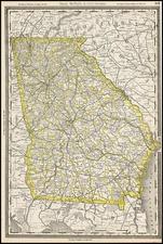 Southeast Map By Rand McNally & Company