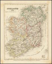 Ireland Map By Joseph Meyer