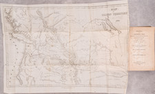 Rocky Mountains, Oregon and Washington Map By Samuel Parker