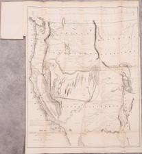 Southwest, Colorado, Utah, Nevada, Rocky Mountains, Oregon, Washington, California and Rare Books Map By John Charles Fremont / Charles Preuss
