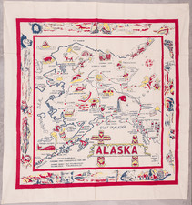 Alaska and Pictorial Maps Map By Anonymous