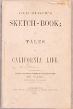 California, Rare Books and Fair Map By Alonzo Delano  &  Charles Nahl
