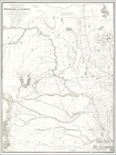 Military Map of Nebraska and Dakota by Lieut. G.K. Warren . . .  By G.K. Warren