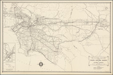 California and Los Angeles Map By