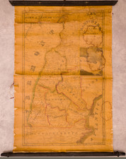New Hampshire Map By Edward Ruggles