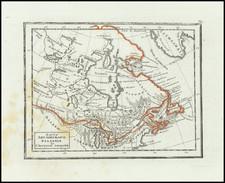 Eastern Canada Map By Fyodor Poznyakov  &  Konstantin Arsenyev  &  S.K. Frolov