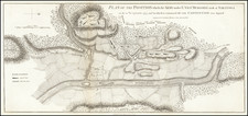 Vermont, New York State and American Revolution Map By Charles Stedman / William Faden