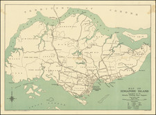 Singapore Map By Bacon & Co.