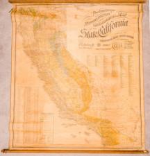 California Map By Britton & Rey