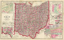 Midwest Map By Frank Gray