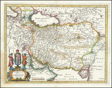 Persia Sive Sophorum Regnum By Matthaus Merian